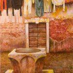 Oleo sobre tabla, obra de Juan Adriansens.