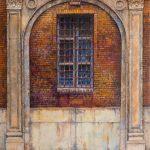 Oleo sobre tabla, obra de Juan Adriansens. 32,5 x 41 cm.